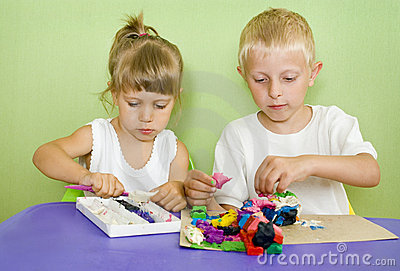 Kids passionate about modeling