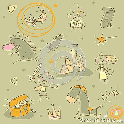 Free Kids Pattern Stock Images - 17696794