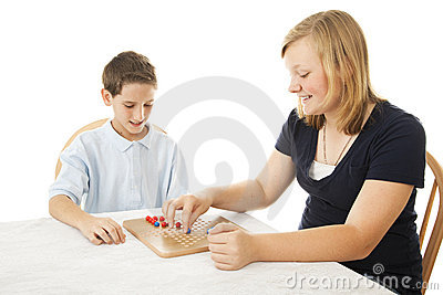 Kids Play Board Game