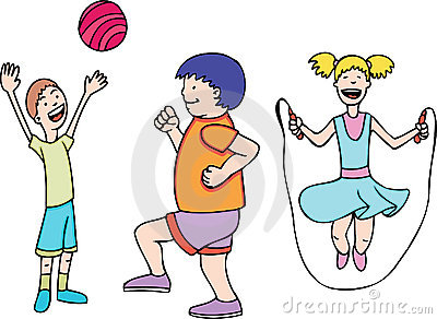 Kids Play and Exercise
