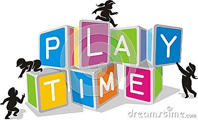 Kids Play Time Blocks