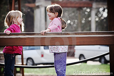 Kids in playground