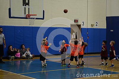 Kids Playing Basketball Stock Images Page Everypixel