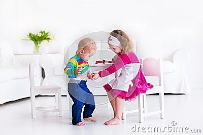 Pediatric Nurse Clipart Kids Playing Doctor St...