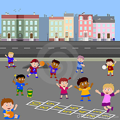 Image result for children in the school yard clip art