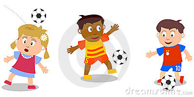 Kids Playing - Soccer