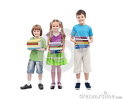 Kids prepared for school