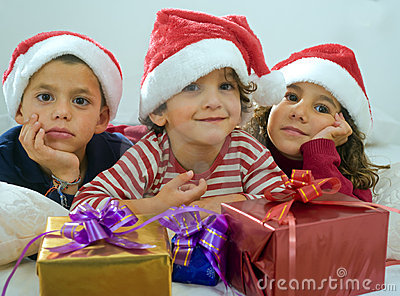 Kids and presents