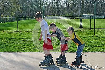 Kids Roller-Blading