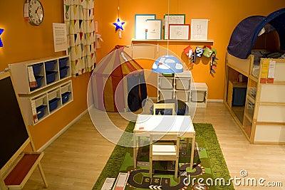 Kids Room Furniture Store Editorial Image