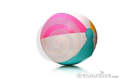 Kids rubber beach ball