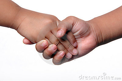 kids shaking hands royalty free stock photography image