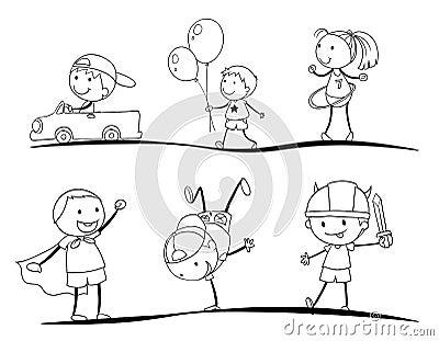 Kids sketches