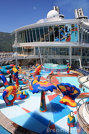 Kids Splash Zone onboard Oasis Of the Seas Editorial Photo