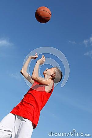 kids sports , basketball