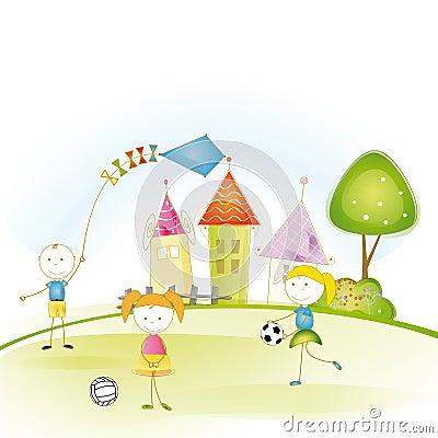 Free Kids Story Stock Photography - 27389192
