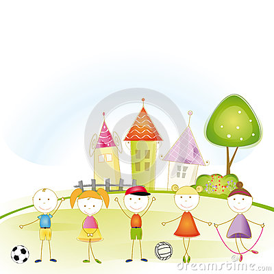 Free Kids Story Stock Images - 27389234