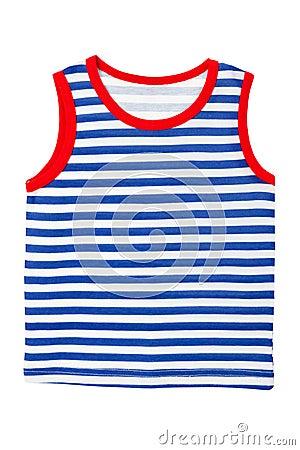 Free Kids Striped  Sailor Shirt Stock Image - 23562851