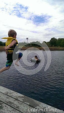 Kids Swimming Enjoying The Summer Editorial Photo Image 51259161