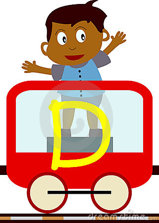 Free Kids & Train Series - D Royalty Free Stock Image - 3633976