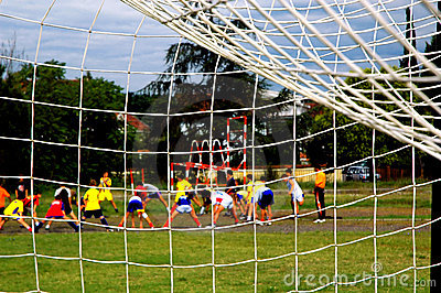 Kids Training Soccer Stock Photos - Image: 1162783