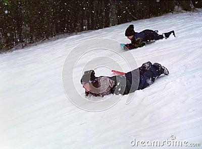 Kids Winter Sport Ontario Canada