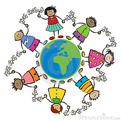 Kids, world, peace-AFRICA EURO