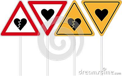 Kierowy drogowy znak