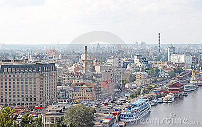Kiev: business and industry city