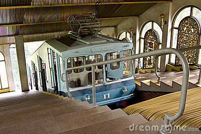 Kiev funicular Editorial Stock Image