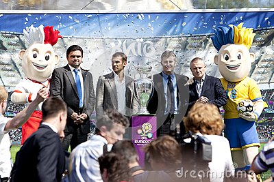 KIEV, MAY 11: The UEFA Cup Editorial Photo