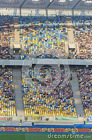 Kiev national stadium, Ukraine Editorial Stock Image