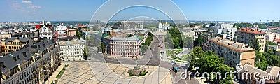 Kiev panorama view