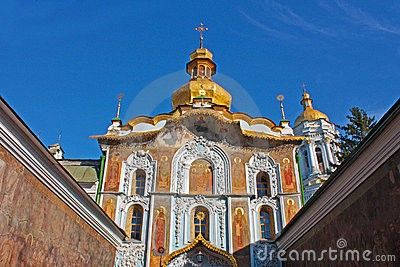Kiev-Pechersk Lavra monastery in Kiev
