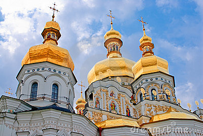 Kiev-Pechersk Lavra monastery in Kiev. Ukraine