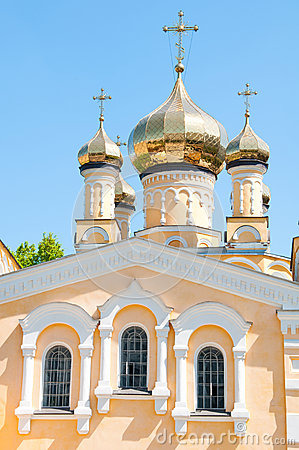 Kiev and religion. Holy Church of the Intercession on Solomenko