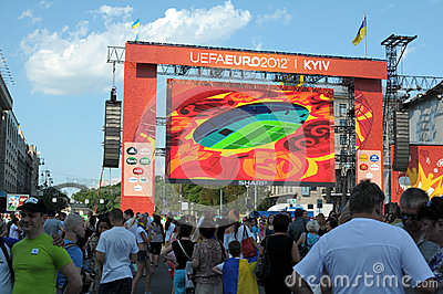 KIEV, UKRAINE - JUNE 19 Editorial Photography