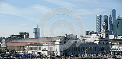 Kievsky train station