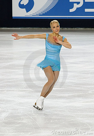 Kiira KORPI (FIN) short program Editorial Photo
