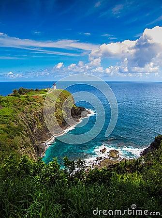 Free Kilauea Lighthouse Stock Images - 95636404