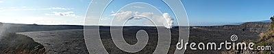 Kilauea volcano caldera, Hawaii
