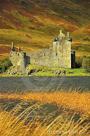 Kilchurn Шотландия замока