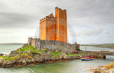 Kilcoe castle in Co. Cork, Ireland