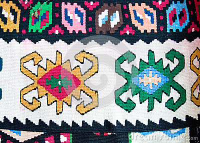 Kilim , traditional wool rug