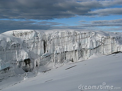 Kilimanjaro παγετώνων