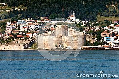 Kilitbahir Castle in Canakkale,Turkey.