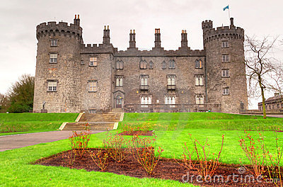 Kilkenny Castle in Ireland