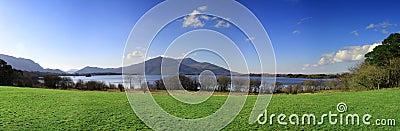 Killarney mountains panoramic
