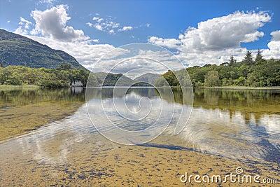 Killarney s lake in National Park - Ireland.