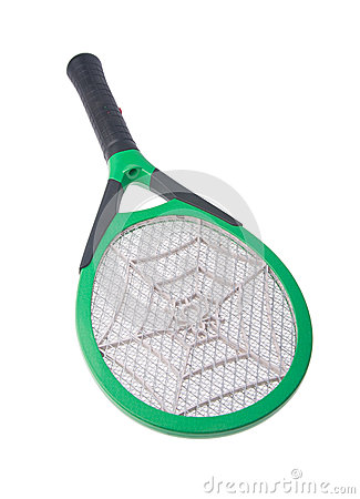 Free Killer Mosquitoes Or Electronic Bug Zapper Royalty Free Stock Photography - 28592707